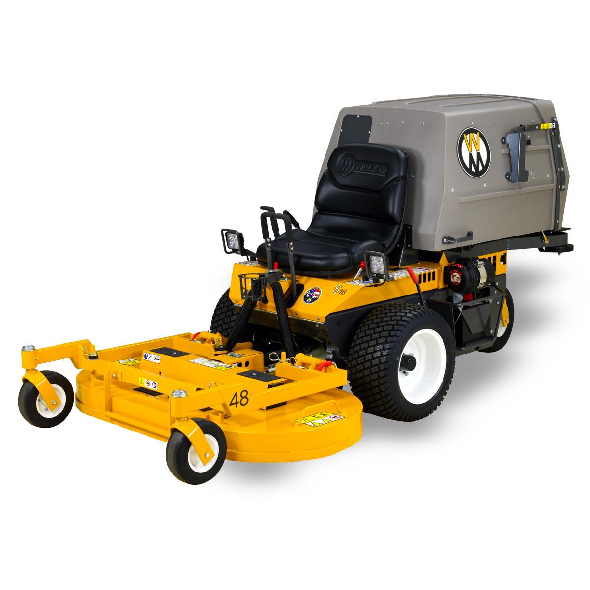 Walker Mower model MS grass collection mower
