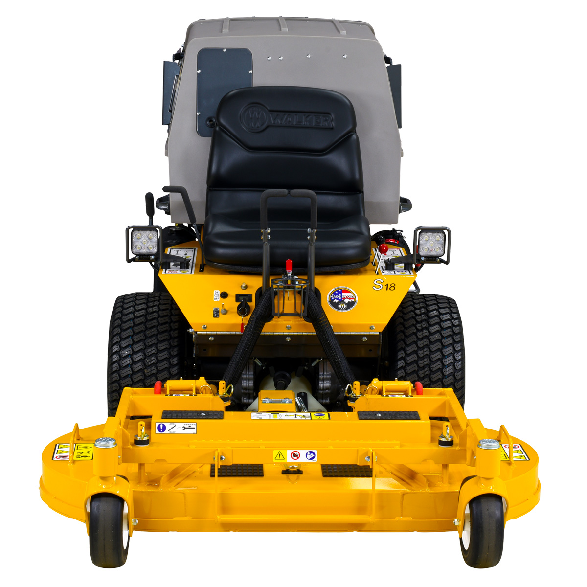 Walker Mower MS - narrow profile for tight areas