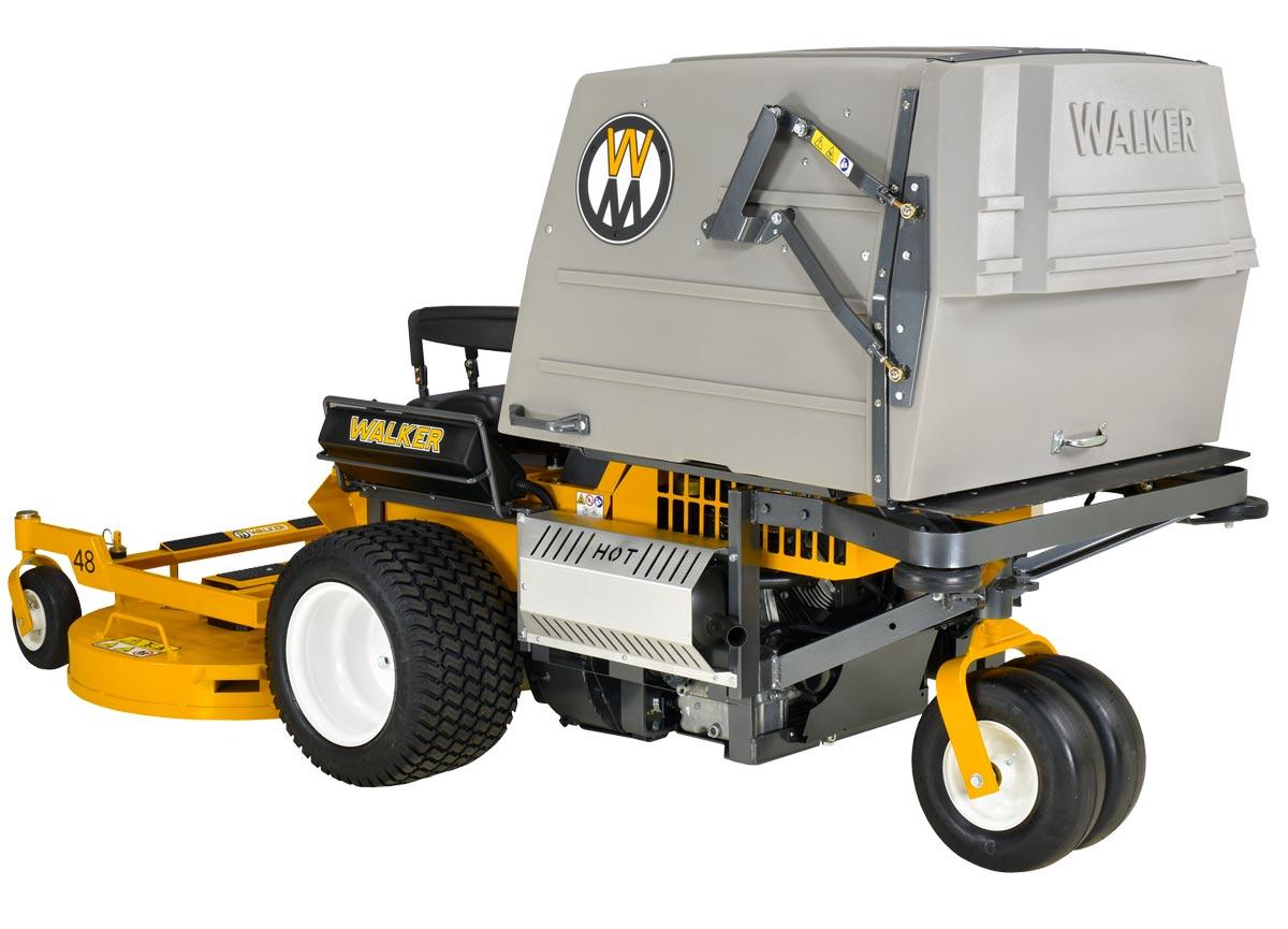 Model MT23 collection mower - large 10 bushel collection unit