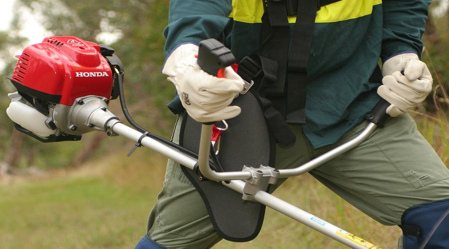 Honda loop handle brushcutter