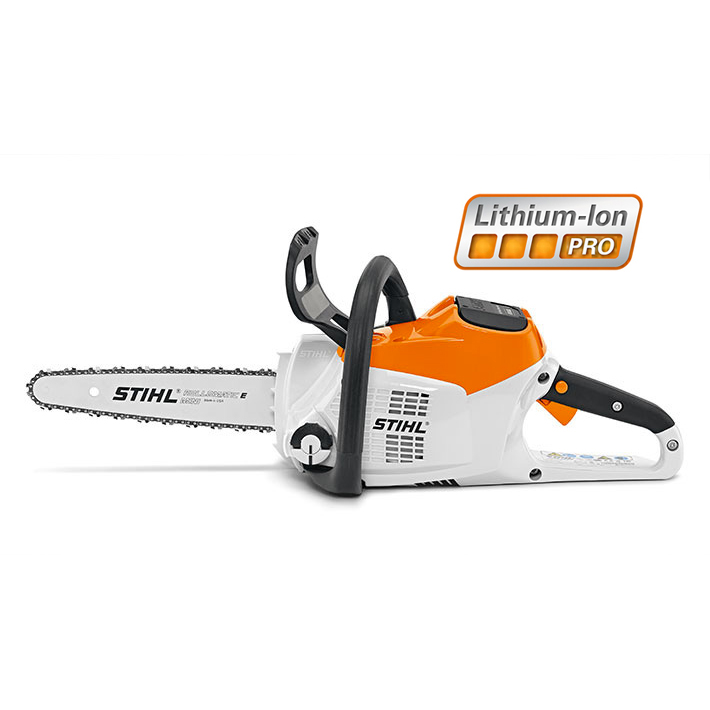 Stihl Battery Chainsaw MSA 160 left side elevation