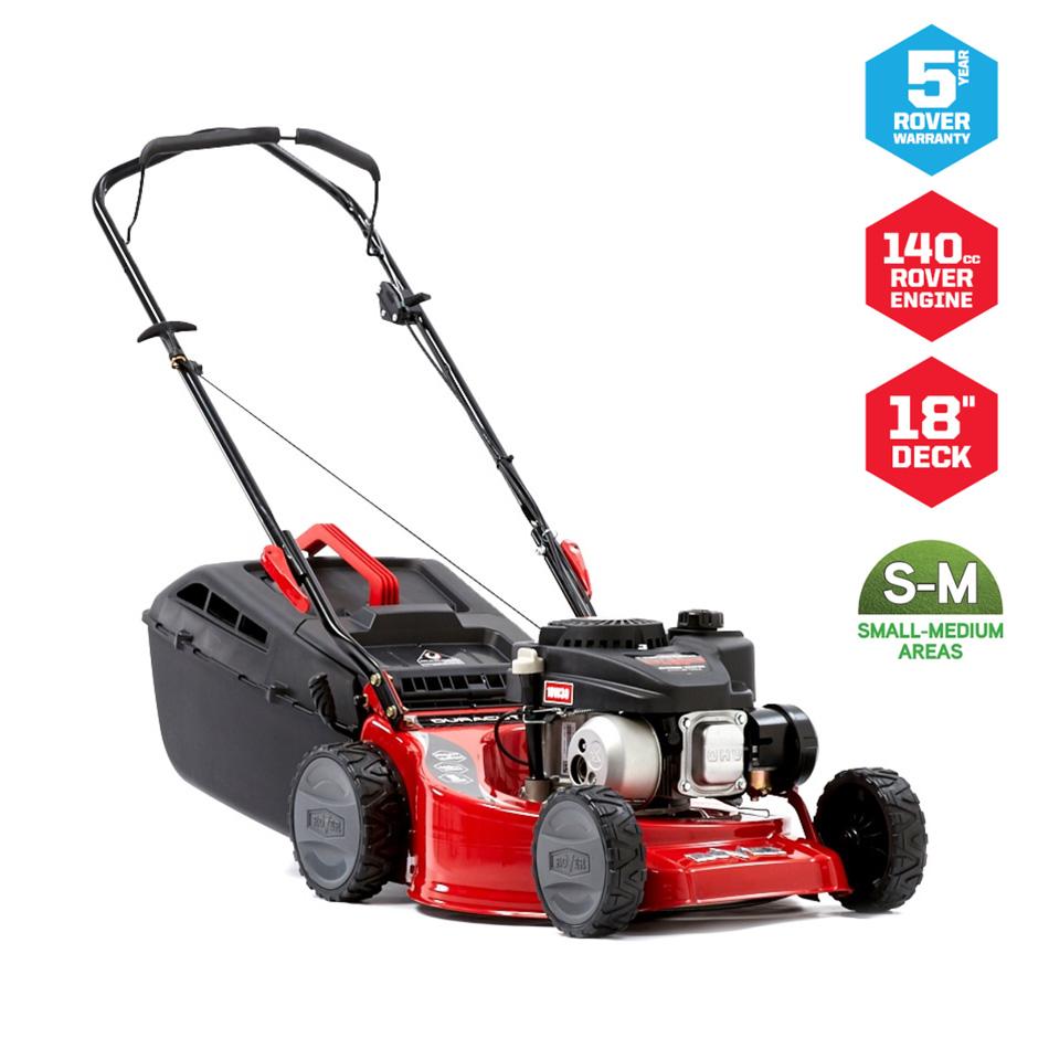 "18"" Rover Duracut 420 Lawn Mower - Steel Deck"