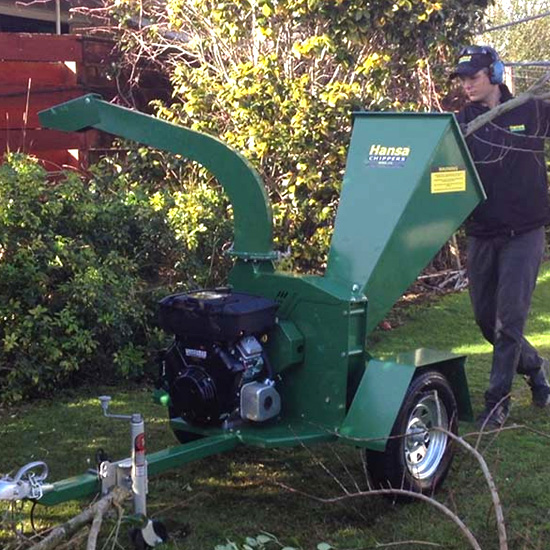 Hansa C16 Chipper & mulcher