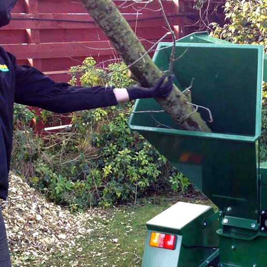 Hansa C16 Chipper - shredder
