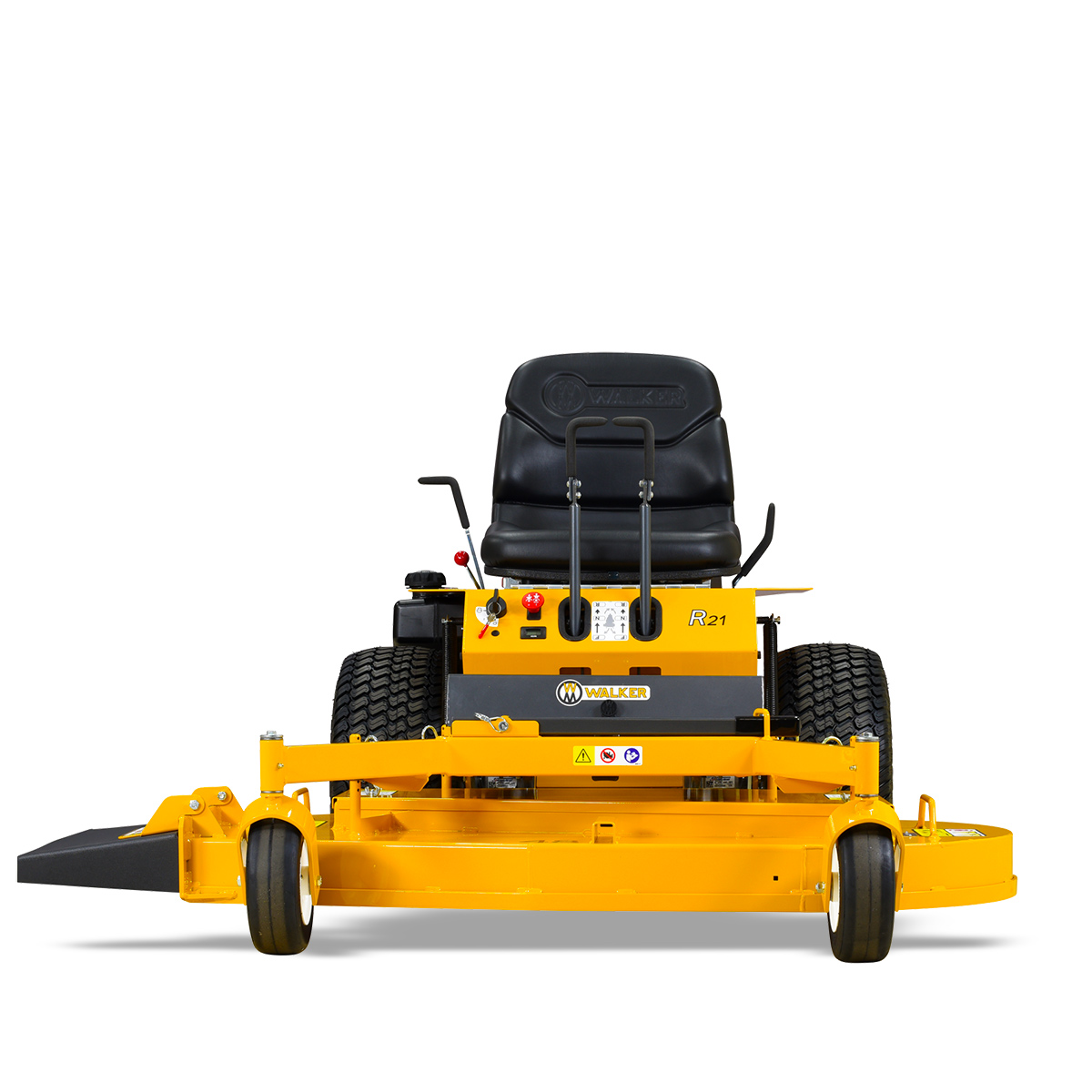Walker Mower Model RS42R - out front deck