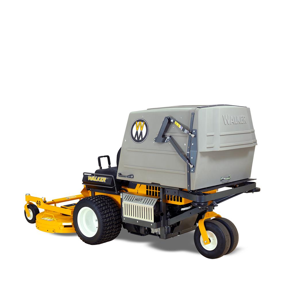 Model MT27i collection mower - large 10 bushel collection unit