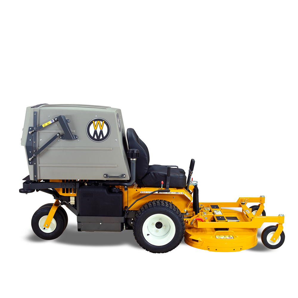 Walker grass collection model MT27i mowing lawn