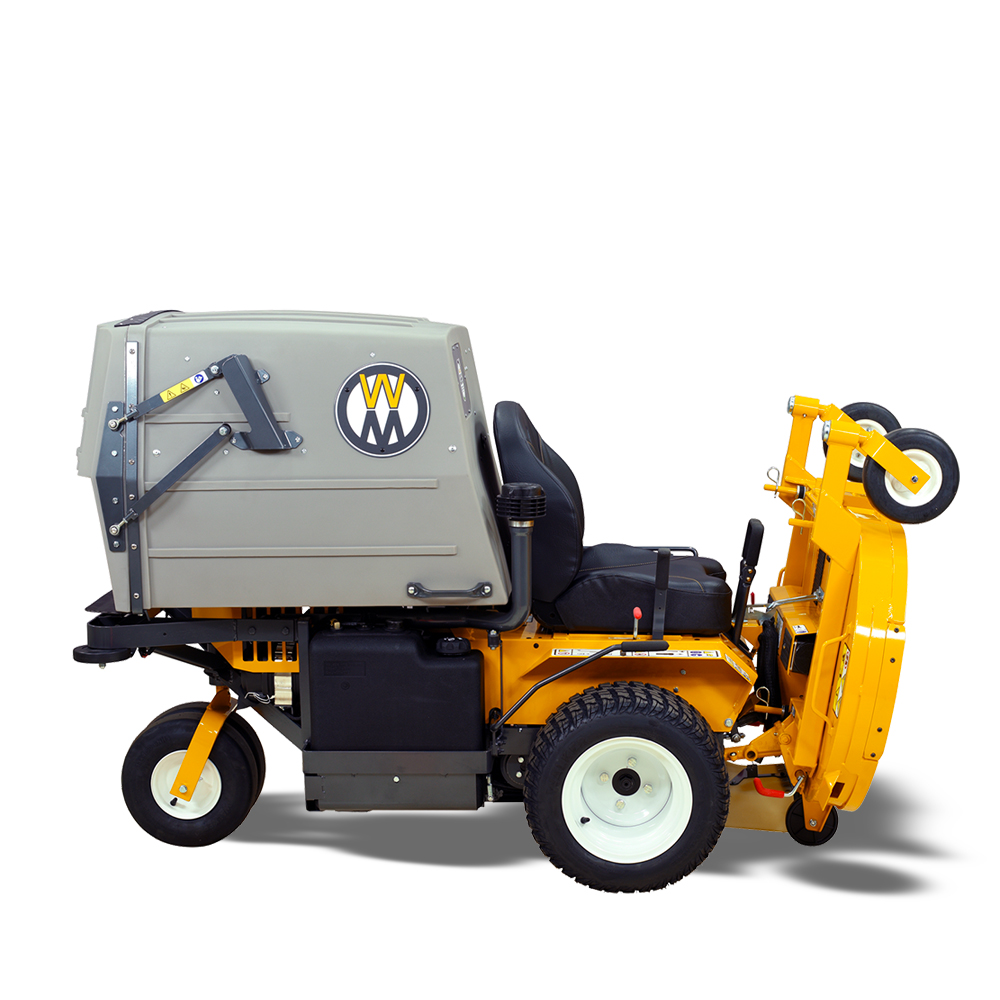 Walker Mower MT27i - deck raised in service position