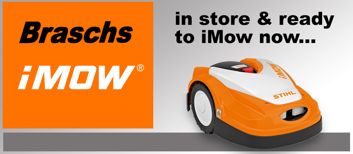 Stihl iMow in store and ready to mow