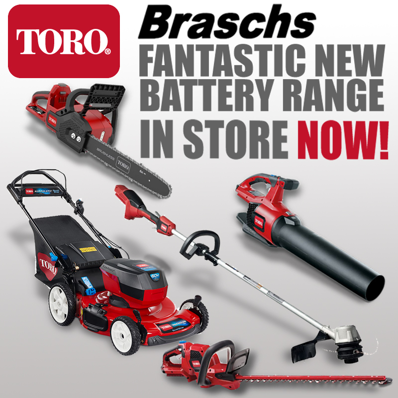 Toro battery range of products