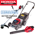 Honda Cordless Plus Battery Power System