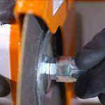 Spindle lock mechanism