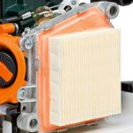 Air filter with long service life